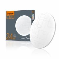 LED светильник настенно-потолочный VIDEX 24W 4100K 220V (VL-CLR-244R) Прямоугольники  10шт/ящ (25353