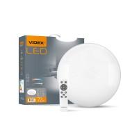LED светильник функциональный  круглый VIDEX STAR  72W 2800-6200K 220V (VL-CLS1522-72)5шт/ящ