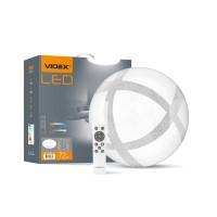 LED светильник функциональный  круглый VIDEX GLANZ 72W 2800-6200K 220V (VL-CLS1847-72) 5шт/ящ (25542