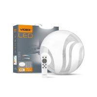 LED светильник функциональный  круглый VIDEX WAVE 72W 2800-6200K 220V (VL-CLS1997-72) 5шт/ящ