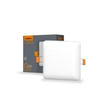 LED светильник безрамочный квадратный VIDEX 9W 4100K 220V (VL-DLFS-094) 20 шт/ящ (25141)