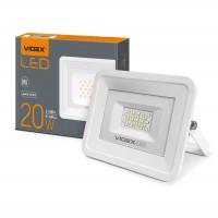 LED прожектор VIDEX 20W 5000K 220V White (VL-Fe205W) (24249)