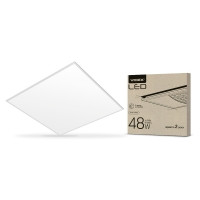 LED панель VIDEX 48W 4100K 220V матовая (VL-Pb484W(2)) 2шт/10шт (25463)