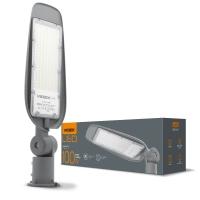 LED фонарь уличный VIDEX (поворотный) 100W 5000K 220V (VL-SLe14-1005) Серый  (25909)