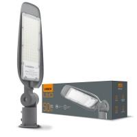 LED фонарь уличный VIDEX (поворотный) 50W 5000K 220V (VL-SLе14-505) Серый (25745)