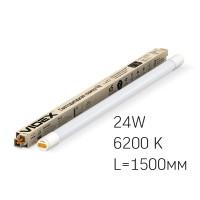 LED лампа VIDEX T8 24W 1.5M 6200K 220V, матовая (VL-T8-24156) (23530)