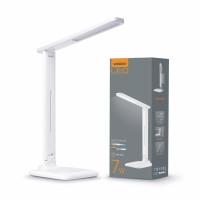 LED лампа настольная VIDEX  VL-TF02W 7W 3000-5500K 220V(16шт/ящ) (24712)