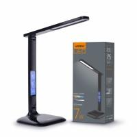 LED лампа настольная VIDEX  VL-TF05B 7W 3000-5500K 220V BLACK (25945)