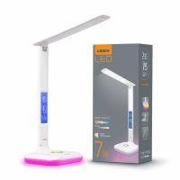 LED лампа настольная VIDEX  VL-TF05W-RGB 7W 3000-5500K 220V RGB (25052)