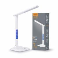 LED лампа настольная VIDEX  VL-TF05W 7W 3000-5500K 220V WHITE (24714)