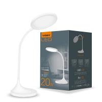 LED лампа настольная VIDEX  VL-TF14W 20W 4100K 220V (6шт/ящ) (26430)