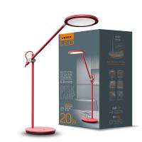 LED лампа настольная VIDEX  VL-TF15R 20W 4100K 220V (4шт/ящ) (26431)